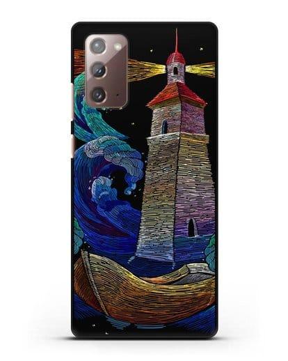 Чехол Маяк силикон черный для Samsung Galaxy Note 20 [SM-N980F]