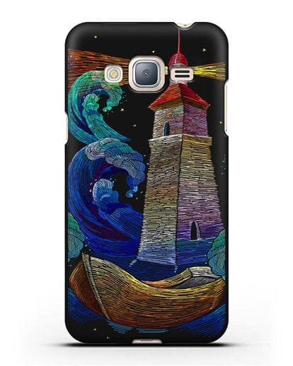 Чехол Маяк силикон черный для Samsung Galaxy J3 2016 [SM-J320F]
