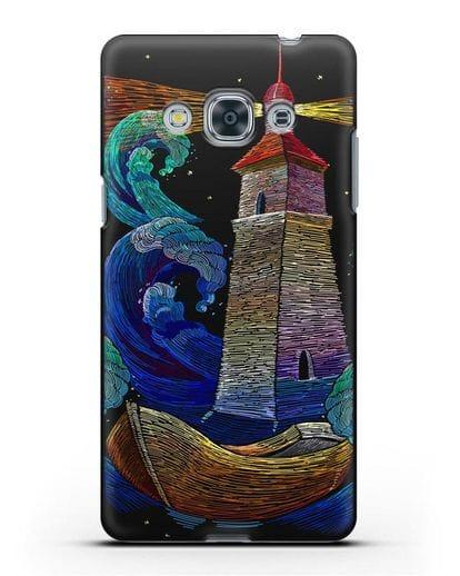 Чехол Маяк силикон черный для Samsung Galaxy J3 Pro [SM-J3110]