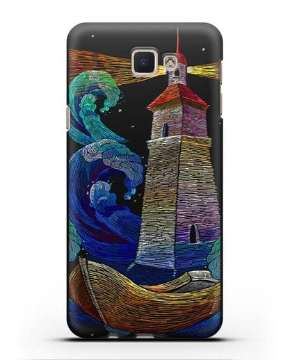 Чехол Маяк силикон черный для Samsung Galaxy J5 Prime [SM-G570]