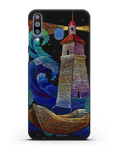 Чехол Маяк силикон черный для Samsung Galaxy M30 [SM-M305F]