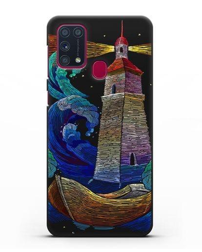 Чехол Маяк силикон черный для Samsung Galaxy M31 [SM-M315F]