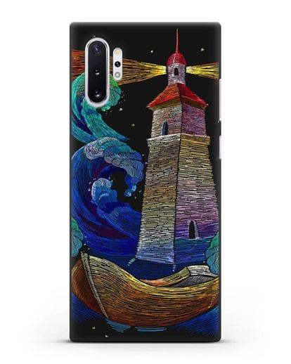 Чехол Маяк силикон черный для Samsung Galaxy Note 10 Plus [N975F]