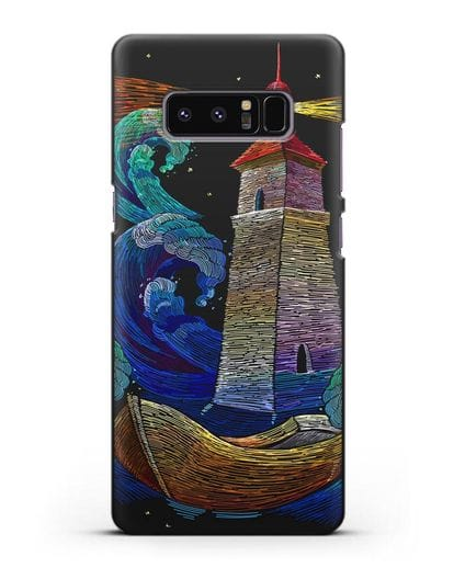 Чехол Маяк силикон черный для Samsung Galaxy Note 8 [N950F]