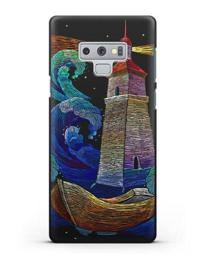 Чехол Маяк силикон черный для Samsung Galaxy Note 9 [N960F]