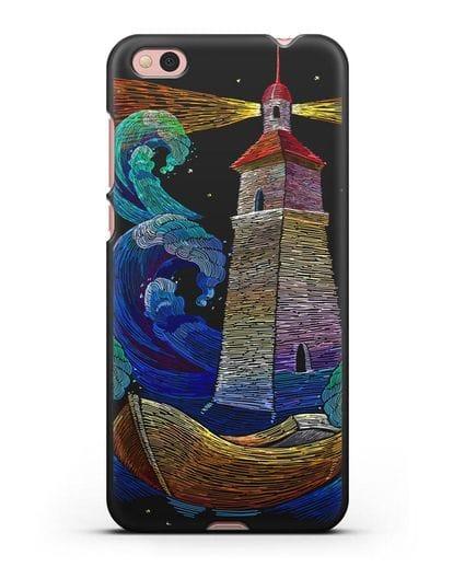 Чехол Маяк силикон черный для Xiaomi Mi 5С