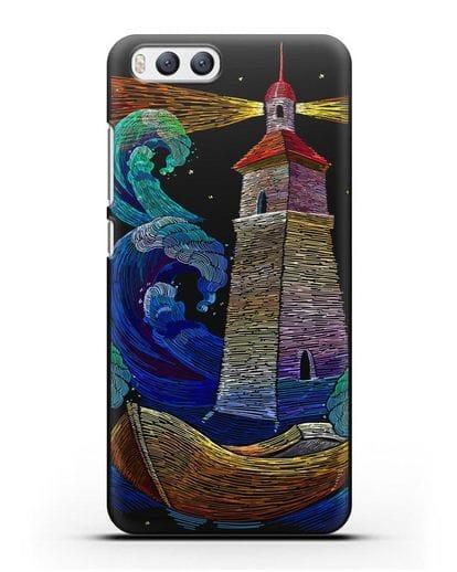 Чехол Маяк силикон черный для Xiaomi Mi 6