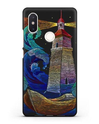 Чехол Маяк силикон черный для Xiaomi Mi 8 SE