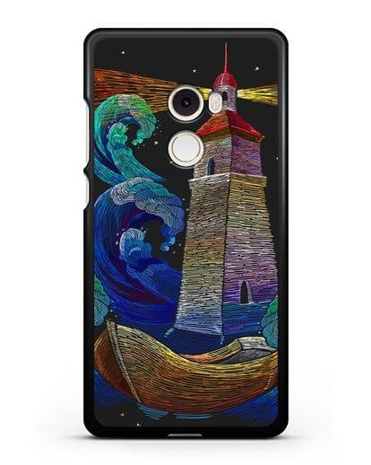 Чехол Маяк силикон черный для Xiaomi Mi Mix 2