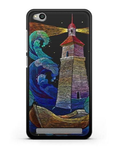 Чехол Маяк силикон черный для Xiaomi Redmi 5A