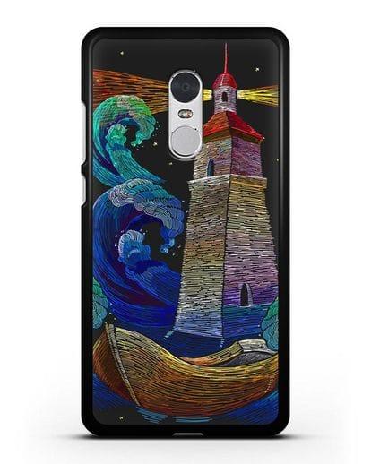 Чехол Маяк силикон черный для Xiaomi Redmi Note 4X