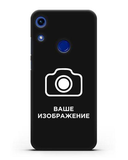 Чехол с фотографией, рисунком, логотипом на заказ силикон черный для Honor 8A