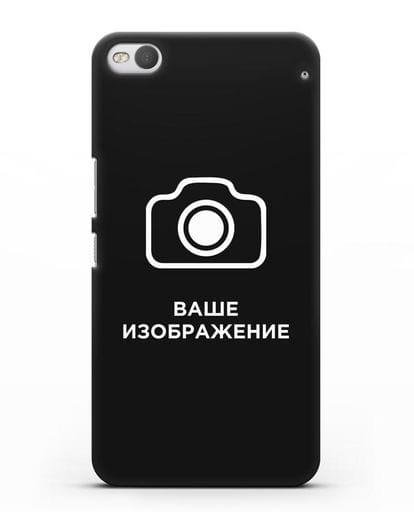 Чехол с фотографией, рисунком, логотипом на заказ силикон черный для HTC One X9