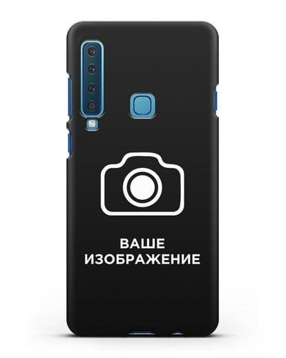 Чехол с фотографией, рисунком, логотипом на заказ силикон черный для Samsung Galaxy A9 (2018) [SM-A920]
