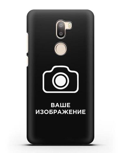 Чехол с фотографией, рисунком, логотипом на заказ силикон черный для Xiaomi Mi 5S Plus