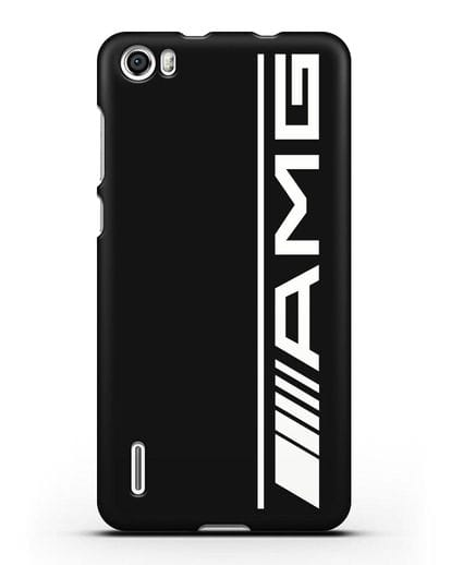 Чехол с логотипом AMG силикон черный для Honor 6