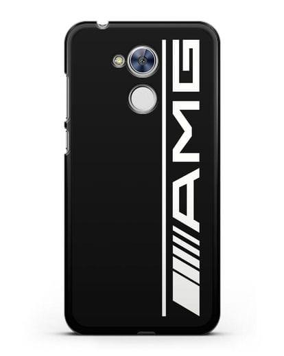 Чехол с логотипом AMG силикон черный для Honor 6A