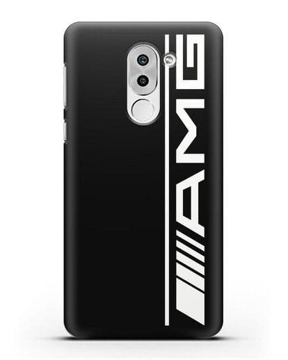 Чехол с логотипом AMG силикон черный для Honor 6X