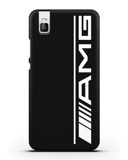 Чехол с логотипом AMG силикон черный для Honor 7i