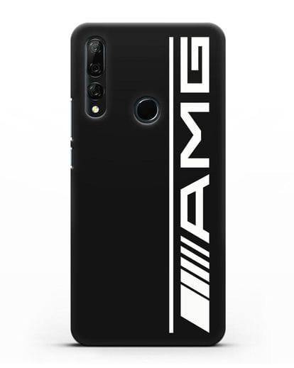 Чехол с логотипом AMG силикон черный для Honor 9X