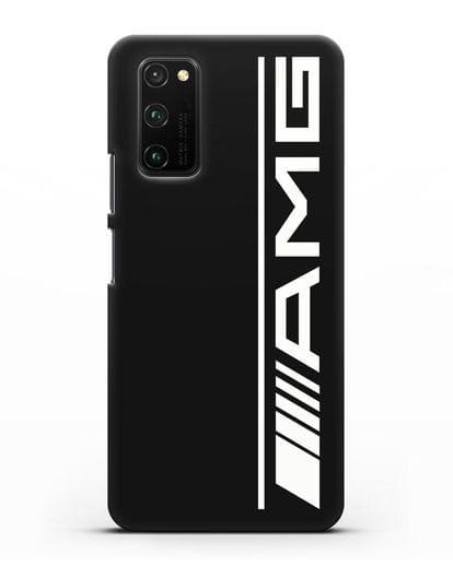 Чехол с логотипом AMG силикон черный для Honor View 30 Pro