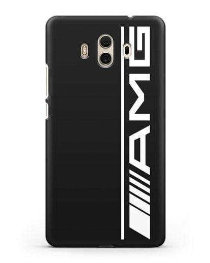 Чехол с логотипом AMG силикон черный для Huawei Mate 10