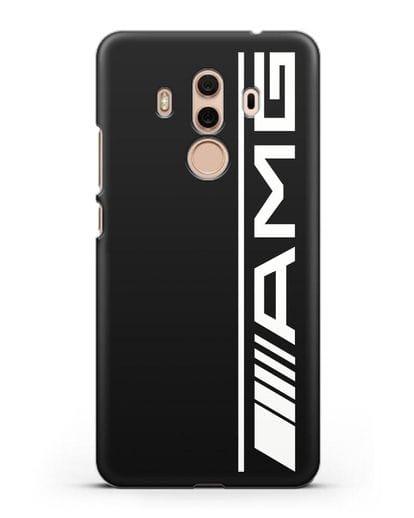 Чехол с логотипом AMG силикон черный для Huawei Mate 10 Pro