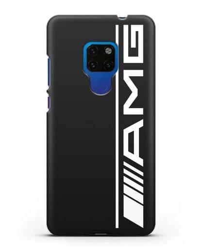 Чехол с логотипом AMG силикон черный для Huawei Mate 20