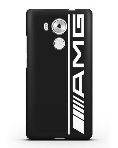 Чехол с логотипом AMG силикон черный для Huawei Mate 8