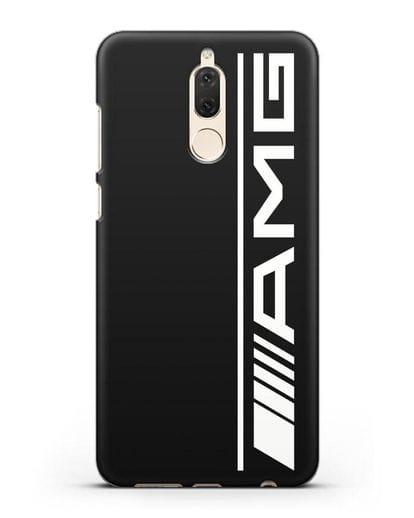 Чехол с логотипом AMG силикон черный для Huawei Nova 2