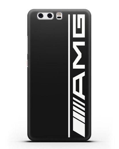 Чехол с логотипом AMG силикон черный для Huawei P10