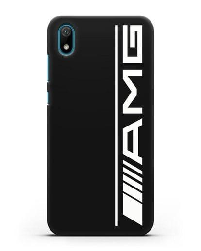 Чехол с логотипом AMG силикон черный для Huawei Y5 2019