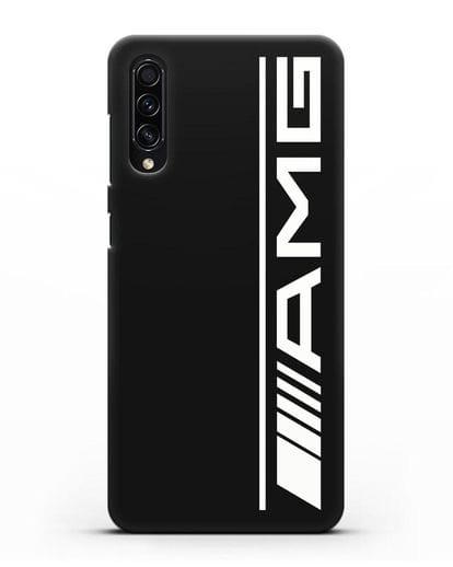 Чехол с логотипом AMG силикон черный для Samsung Galaxy A50s [SM-F507FN]