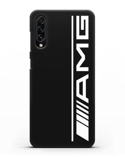 Чехол с логотипом AMG силикон черный для Samsung Galaxy A70s [SM-A707F]