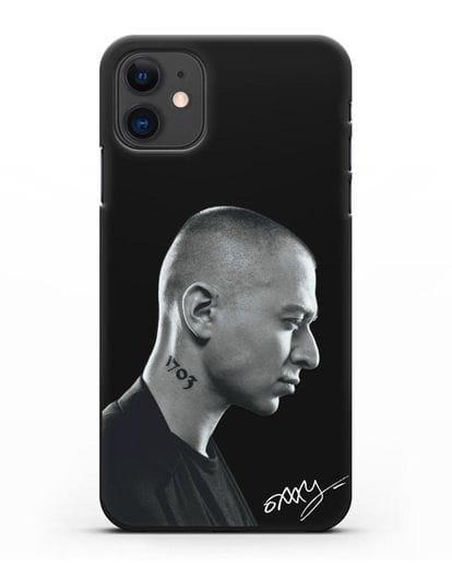 Чехол с фотографией Оксимирон силикон черный для iPhone 11