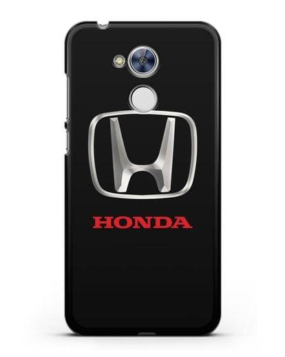 Чехол с логотипом Honda силикон черный для Honor 6A