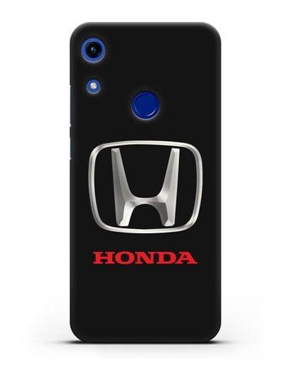Чехол с логотипом Honda силикон черный для Honor 8A