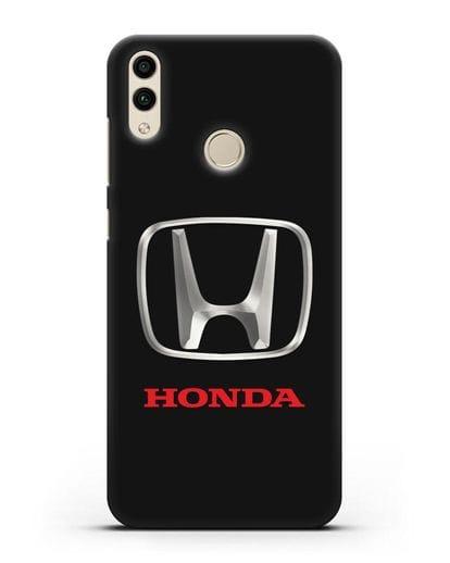 Чехол с логотипом Honda силикон черный для Honor 8C