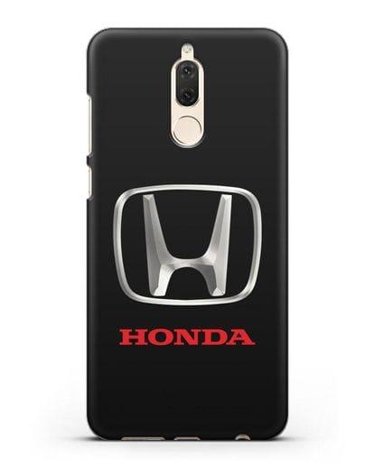 Чехол с логотипом Honda силикон черный для Huawei Nova 2