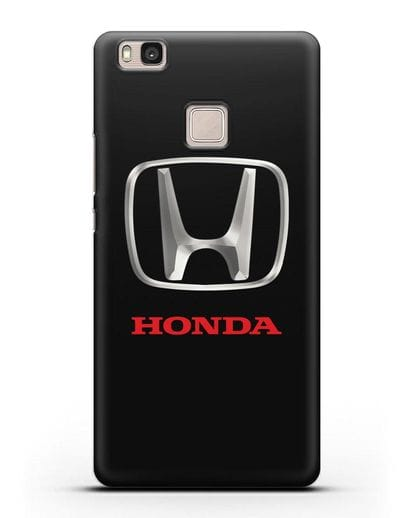 Чехол с логотипом Honda силикон черный для Huawei P9 Lite