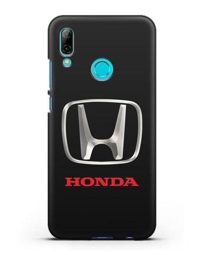 Чехол с логотипом Honda силикон черный для Huawei P Smart 2019