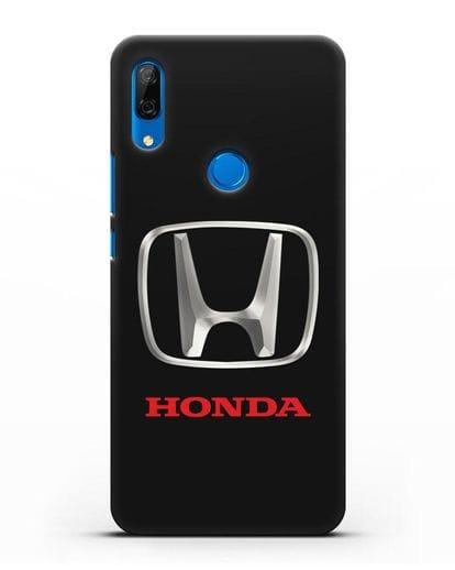 Чехол с логотипом Honda силикон черный для Huawei P Smart Z