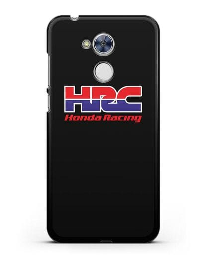 Чехол с надписью Honda Racing силикон черный для Honor 6A