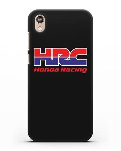 Чехол с надписью Honda Racing силикон черный для Honor 8S Prime