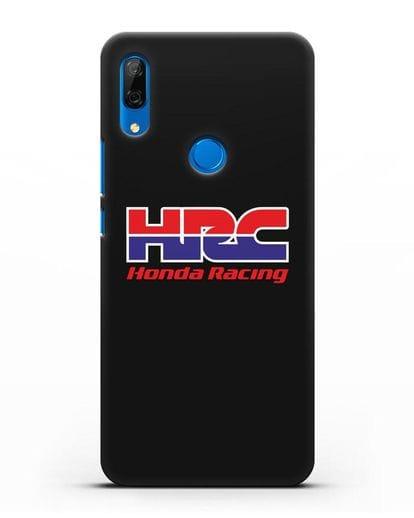 Чехол с надписью Honda Racing силикон черный для Huawei P Smart Z