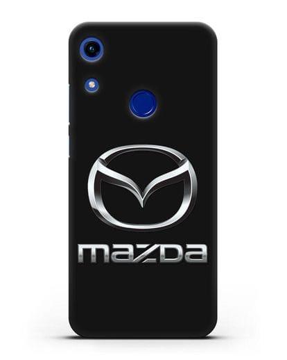Чехол с логотипом Mazda силикон черный для Honor 8A