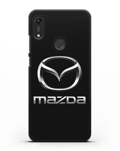 Чехол с логотипом Mazda силикон черный для Honor 8A Prime