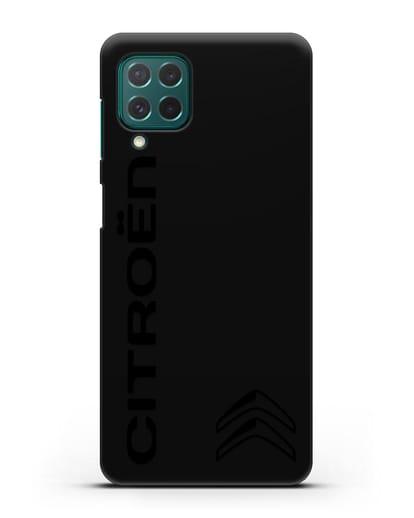 Чехол с надписью Citroen и логотипом силикон черный для Samsung Galaxy M62 [SM-M625F]