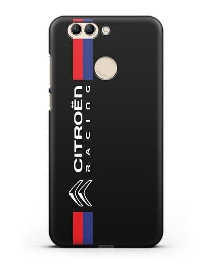 Чехол с логотипом Citroen Racing силикон черный для Huawei Nova 2 Plus