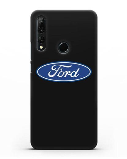 Чехол с логотипом Ford силикон черный для Honor 9X